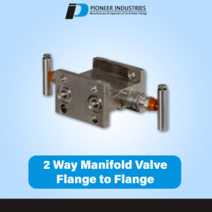 T Type 2 Way Manifolds Valves Flange to Flange (T Type)