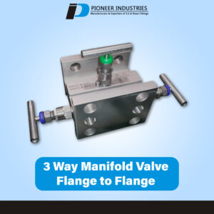 T Type 3-Way Manifolds Valves Flange to Flange (T Type)