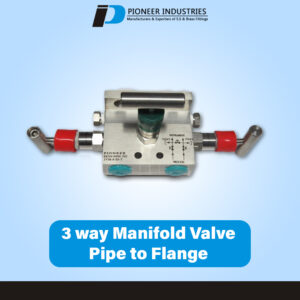H Type 3-way Manifolds Valves pipe to flange (H Type)