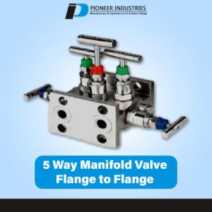 T Type 5 Way Manifolds Valves