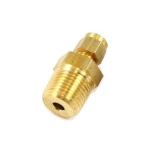 Brass Double Ferrule Female Adapter