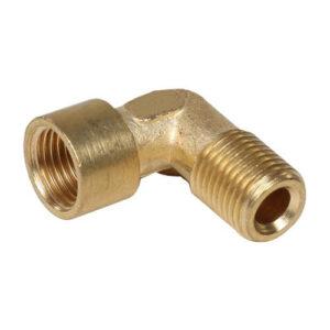 Brass Double Ferrule Male Elbow