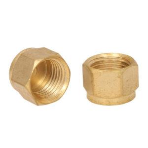 Brass Double Ferrule Tube Plug