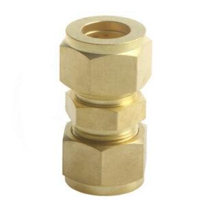 Brass Double Ferrule Union