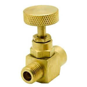 Brass Needle Valve Tube to Tube