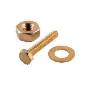 Brass PU Hollo Bolt