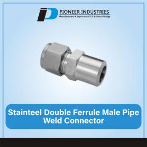 stainless-steel-double-ferrule-male-pipe-weld-connector