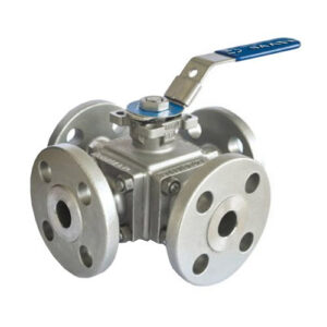 Stainless Steel 4 Way Ball valve